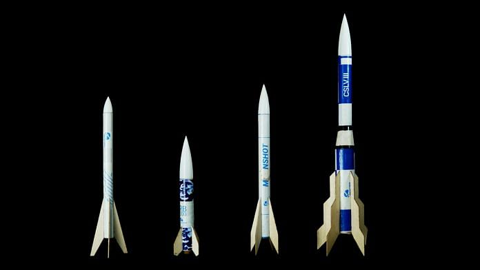 Space start-up Rocketeers launched the first commercially-available model rockets in India