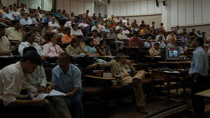 A conference in IIT Bombay (Representational image)