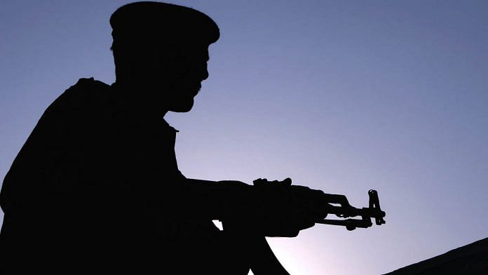A Pakistani soldier stands guard on a street in Karachi (Representational image)