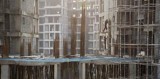 Workers at a construction site in Delhi (representational image)   Ruhani Kaur/Bloomberg
