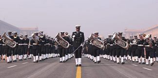 Navy band during the rehearsal | Suraj Bhist/ThePrint