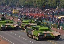 T-90 tanks at Republic Day parade | Photo: Praveen Jain | ThePrint