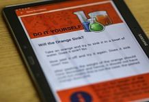 The BYJU'S learning app is displayed on a tablet | Dhiraj Singh/Bloomberg
