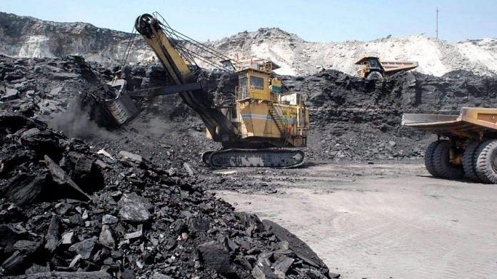 Representational image of a coal mine | Source: Twitter/@coalindiahq