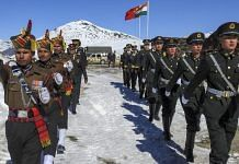 Indian and Chinese soldiers jointly celebrate the New Year 2019 at Bumla along the Indo-China border, Arunachal Pradesh