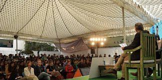 Attendees at a session in Jaipur Lit fest   @ZEEJLF/Twitter
