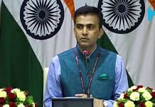 MEA spokesperson Raveesh Kumar | YouTube