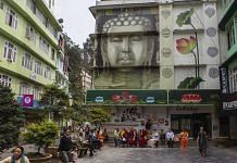 People sit in an outdoor plaza in Gangtok, Sikkim (Representational image)