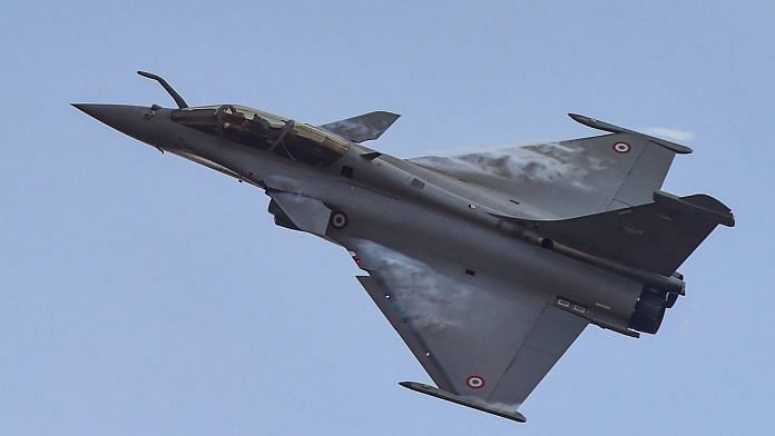 File photo of a Rafale fighter aircraft | PTI