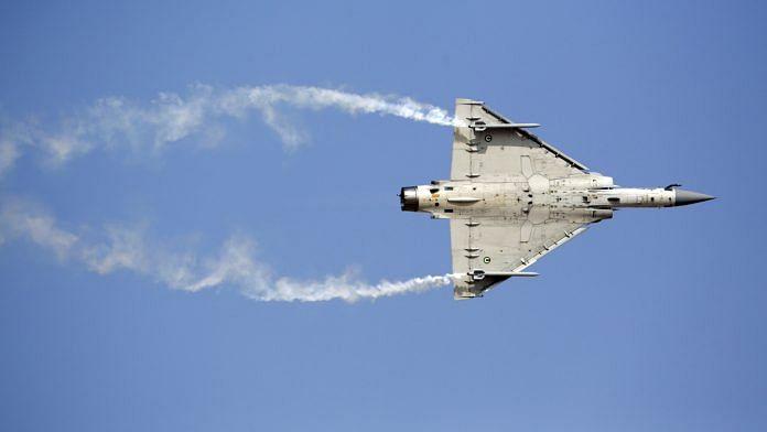A Mirage 2000 jet fighter aircraft