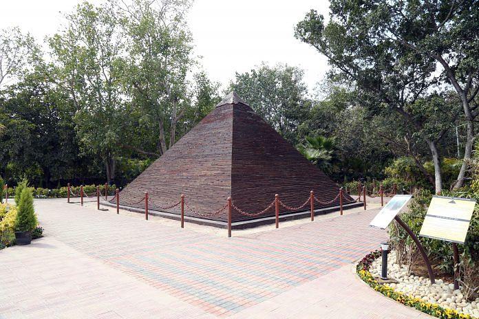 Great Pyramid of Giza at Wonders of the World Park | Suraj Singh Bisht - ThePrint