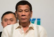 File image of Rodrigo Duterte, president of Philippines |SeongJoon Cho/Bloomberg