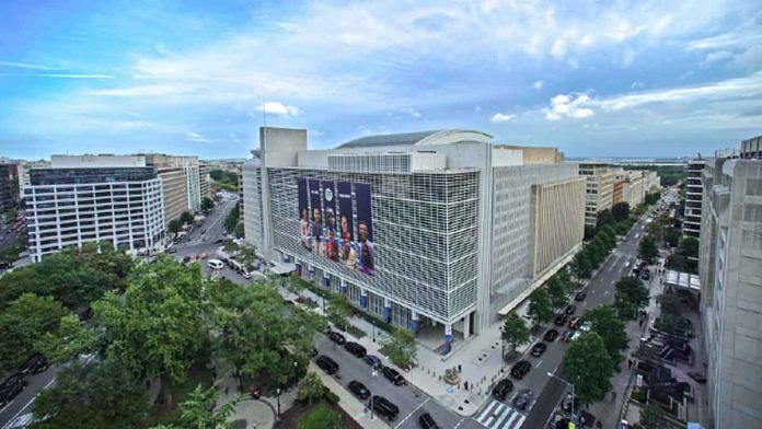 The World Bank headquarters