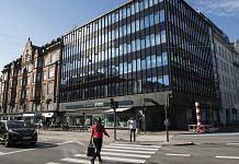 Danske Bank A/S bank branch in central Copenhagen, Denmark.