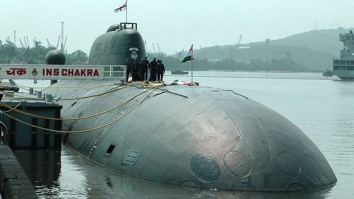 An INS Chakra SSN submarine used by Indian Navy | Commons