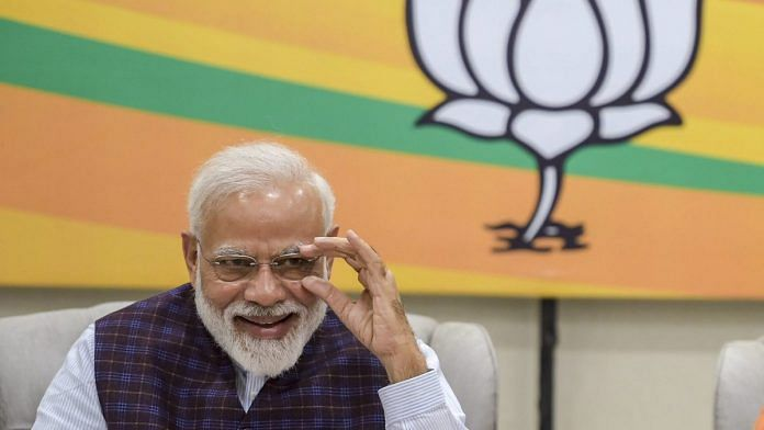 PM Narendra Modi during the BJP Central Election Committee |Vijay Verma/PTI