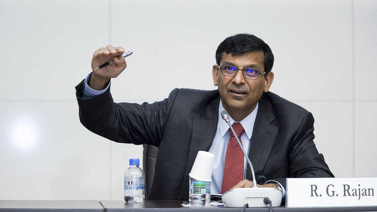 Raghuram Rajan Professor of Finance