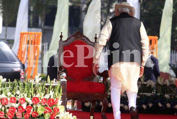 PM Modi at 50th raising day for CISF   Praveen Jain/ThePrint
