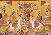 The battle of Kurukshetra in Mahabharata | Commons