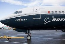Boeing 737 Max jet
