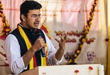 File photo of BJP leader Tejasvi Surya