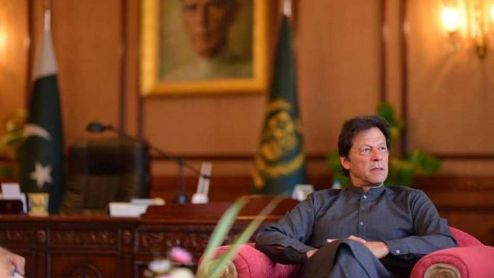 File photo of Pakistan PM Imran Khan | Facebook
