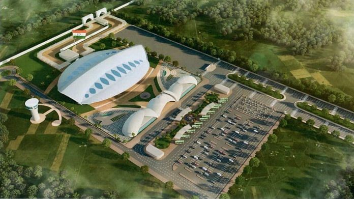 An artist's impression of the Kartarpur Passenger Terminal Complex that India will be building | By special arrangement