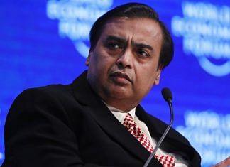 File image of Reliance Industries chief Mukesh Ambani | Photo: Bloomberg