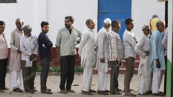 People queued up to cast their vote in the first phase of Lok Sabha Elections | Praveen Jain