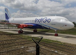 An Airbus Group SE A320neo passenger jet operated by IndiGo