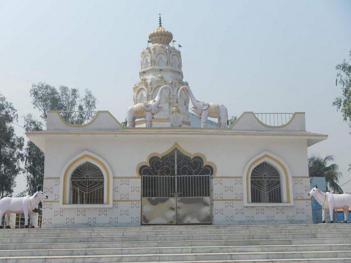 The newly-inaugurated Ram Janaki temple at Pandaveswar village on the outskirts of Asansol in Bengal