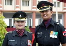 Women officers in the Indian Army