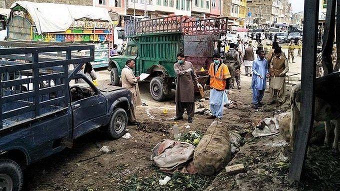 At least 20 people were killed in a bomb blast in Hazarganji market in Balochistan's Quetta
