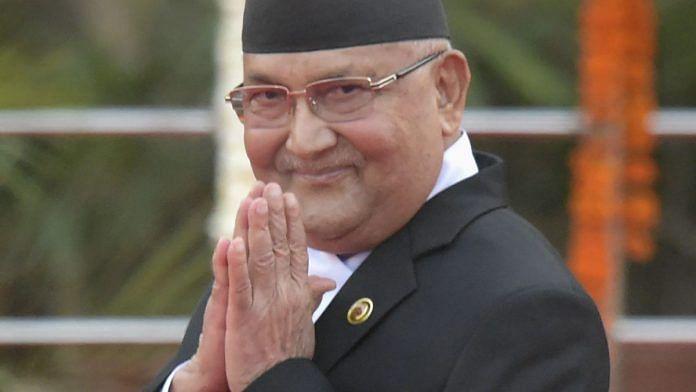 File image of Nepal Prime Minister K.P. Sharma Oli | Photo: PTI