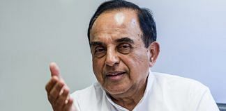 File photo of Subramanian Swamy | Prashanth Vishwanathan/Bloomberg