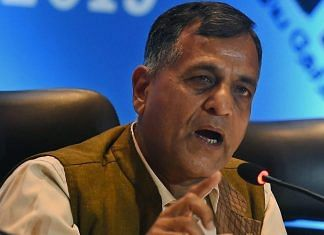 File photo of Election commissioner Ashok Lavasa