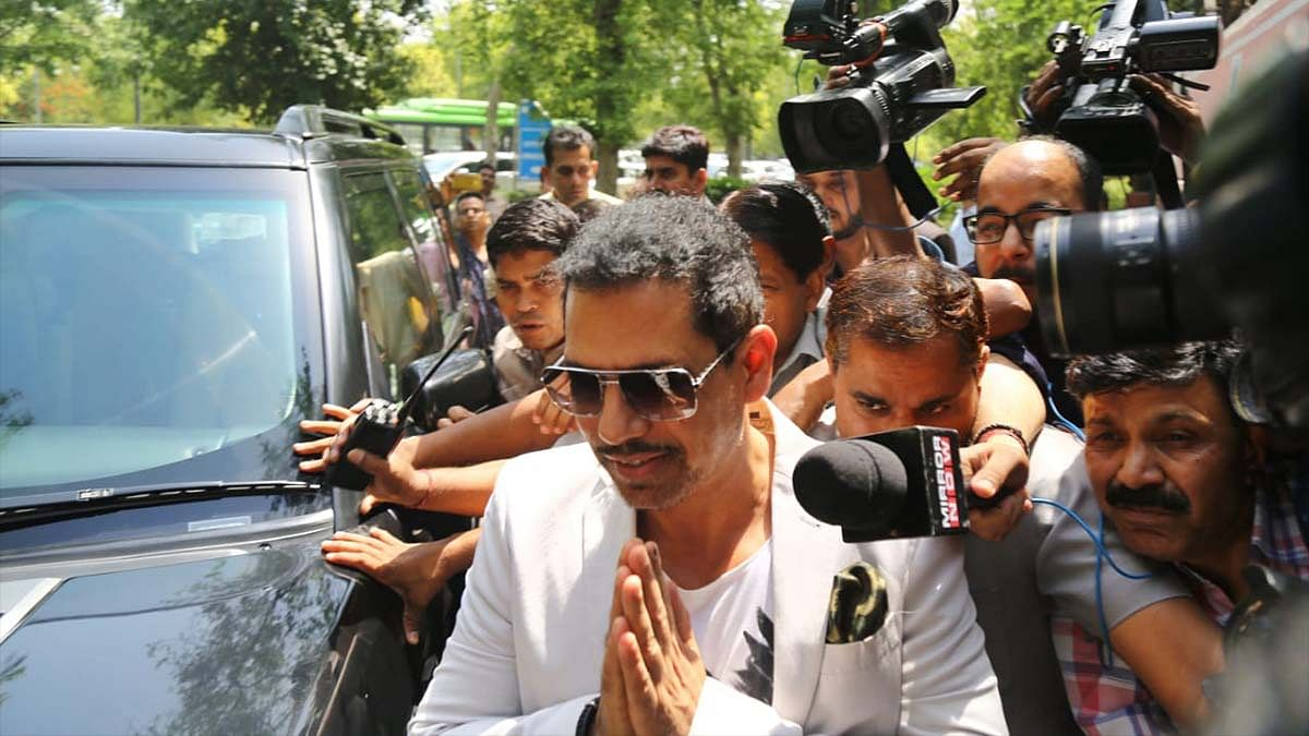 Robert Vadra is now an 'aam aadmi' Khan Market protester. With a Land Cruiser on standby