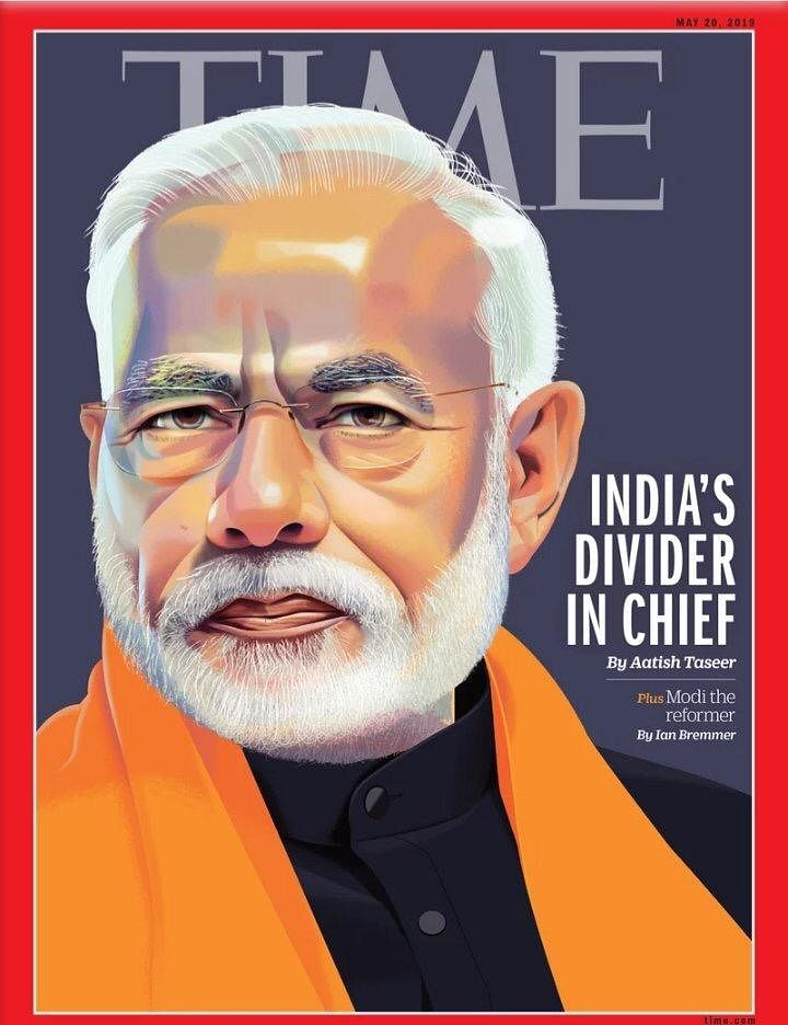 The cover of the controversial TIME magazine   ThePrint
