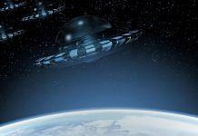 Representational image of UFOs