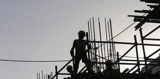 Representational image of construction work | Photo: Dhiraj Singh | Bloomberg