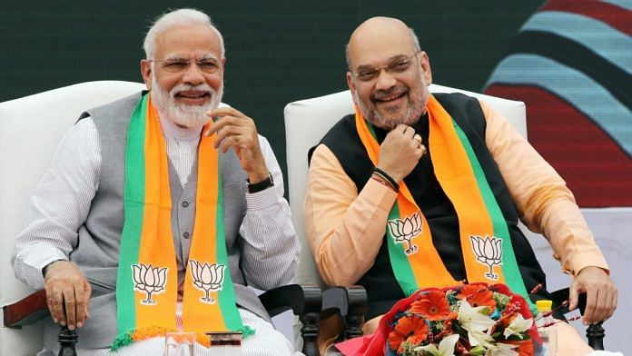 Narendra Modi and Amit Shah | File photo: T. Narayan | Bloomberg