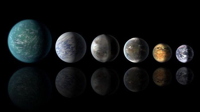 Representational image of exoplanets