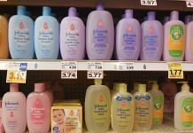 Johnson and Johnson baby shampoos. | Commons
