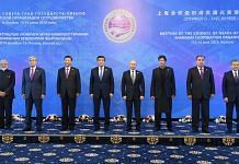 Worl leaders at the SCO Summit