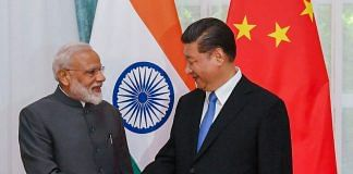 PM Narendra Modi with Chinese President Xi Jinping on the sidelines of the Shanghai Cooperation Organisation (SCO) Summit in Bishkek, Kyrgyzstan