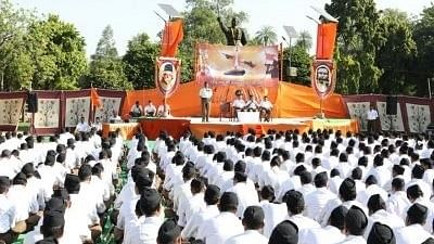 RSS members at a gathering