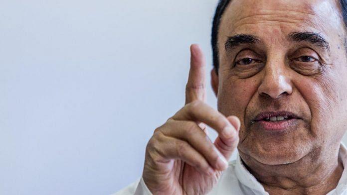 Subramanian Swamy   File photo: Prashanth Vishwanathan/Bloomberg