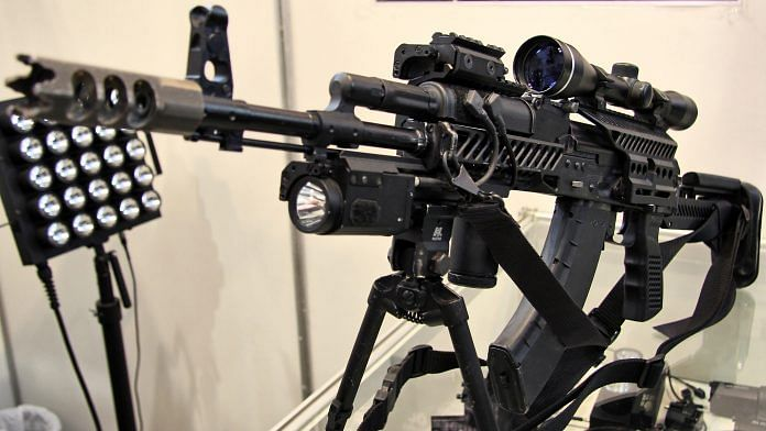 File photo of Russian AK-203 rifle | Commons