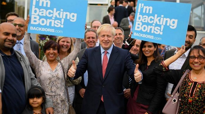 Boris Johnson- Prime Minister of the United Kingdom and Conservatives leader   Twitter