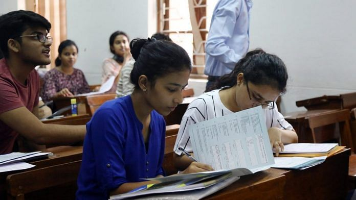 College students | Representational image | Photo: Suraj Singh Bisht | ThePrint